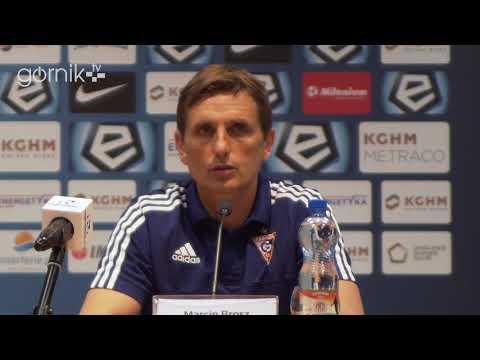 Zagłębie Lubin 0-2 Górnik Zabrze. Konferencja prasowa: Marcin Brosz (06-05-2018)