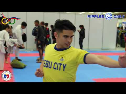 Cebu's karate jewel James Delos Santos wins PNG kata gold for 6th time