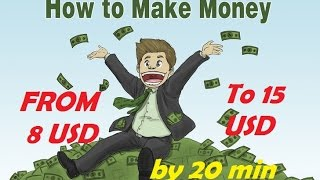 How to make money online from 8 to 15 usd per test cash