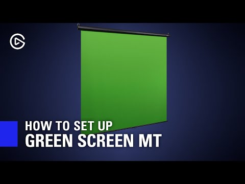 Elgato Collapsible MT Wall Mountable Streaming Green Screen