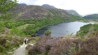 Nantmor & Llyn Dinas, Snowdonia National Park Walks In Gwynedd, Wales, UK