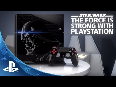 There's going to be a Darth Vader edition PlayStation 4