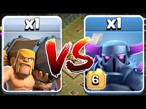 PEKKA Vs. BATTLE RAM!! | Clash Of Clans | WHO WILL WIN!?!