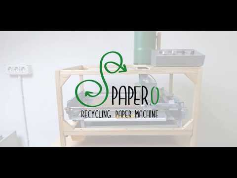 PAPER.O recycling paper machine
