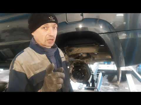 УАЗ Патриот. Замена сальников ступиц и задних тормозных колодок.