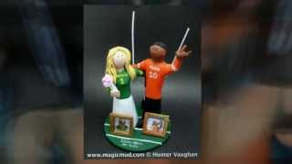 Mixed Race Wedding Cake Toppers | wedding cake toppers