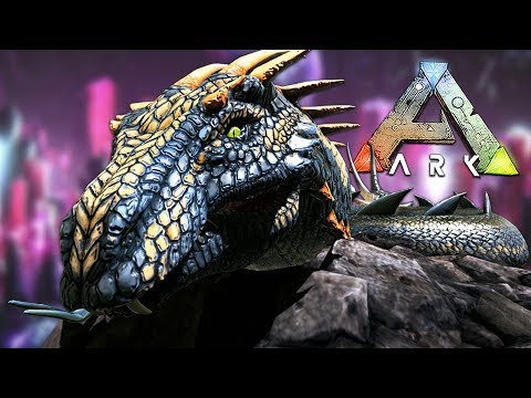 ARK: Survival Evolved - EXPLORING UNDERGROUND DINOSAUR WORLD!! (ARK Aberration, Episode 6)