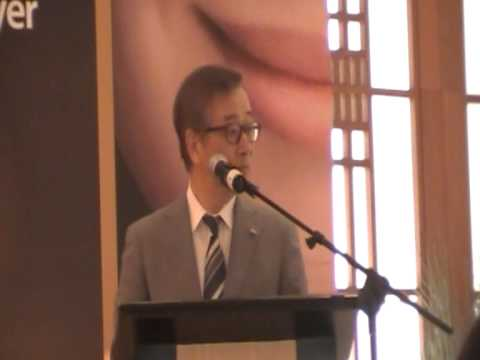 Speech Hasegawa Minoru, General Manager Plasmacluster Equipment Division Sharp Corporation