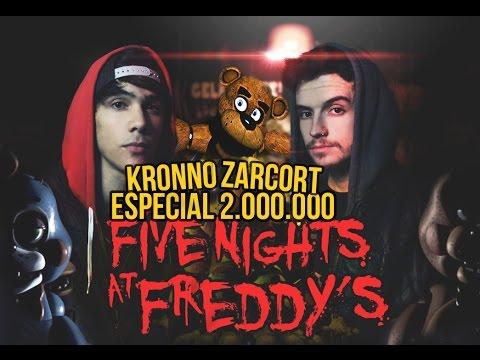 FIVE NIGHTS AT FREDDY&39;S RAP  2 MILLONES  ZARCORT Y KRONNO