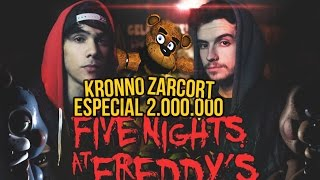 FIVE NIGHTS AT FREDDY'S RAP | 2 MILLONES | ZARCORT Y KRONNO thumbnail