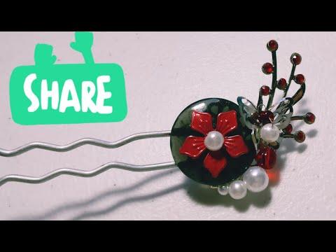 DIY Tutorial - Chinese Hair Accessories
