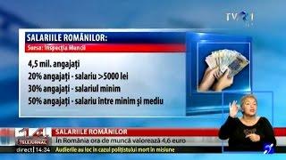 Infonomik: 1,5 milioane de români sunt plătiţi cu salariul minim pe economie