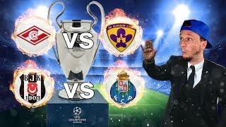 CHAMPIONS LEAGUE | Besiktas vs Porto & Moskau vs Maribor thumbnail