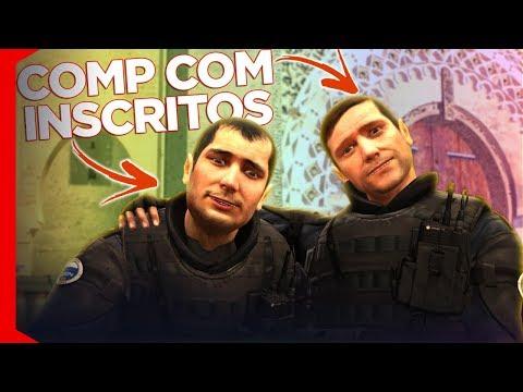 JOGANDO COM INSCRITOS! - CS:GO DE VOLTA AO GLOBAL #4