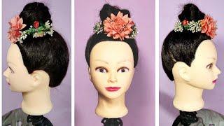 How to make Juda || Bun Hair style || Everyday Bun || Stylish Juda Bun