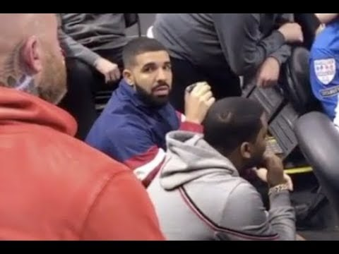 This Is Why You Dont Scream Drakes Name At A Basketball Game