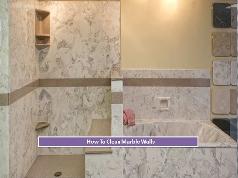 How To Clean Marble Walls And Tiles YouTube - What to use to clean bathroom walls