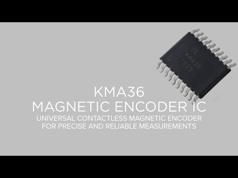 Magnetic Encoder IC | KMA36