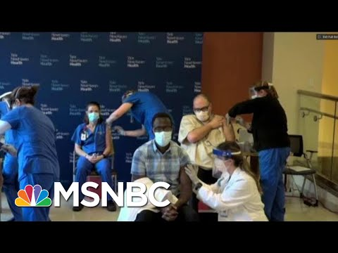First Covid-19 Vaccines Being Administered At Yale New Haven Hospital   MTP Daily   MSNBC