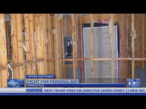 State fighting for Hurricane Matthew federal aid