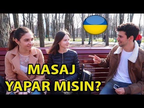 UKRAYNA 🇺🇦 KIZLARINA MASAJ YAPTIRDIK!