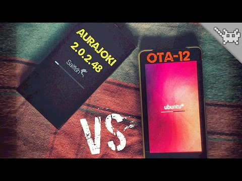 Ubuntu Phone OTA12 vs Sailfish OS 2.0.2 ⊷ #gon_Versus