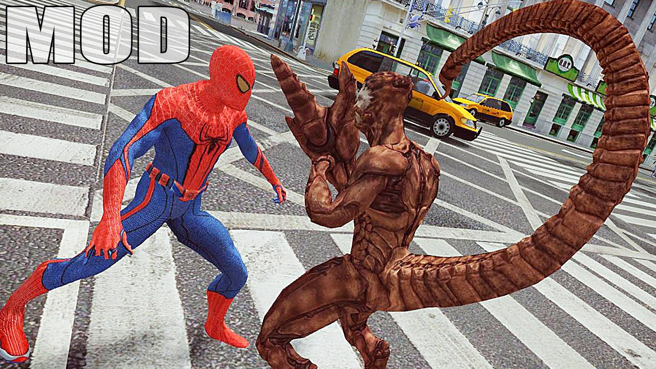 spiderman vs scorpion epic battle - gta 4 spiderman - youtube
