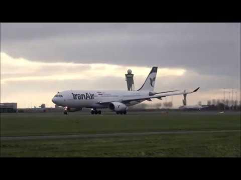 [Full HD] Planespotting Schiphol 06-01-2019.