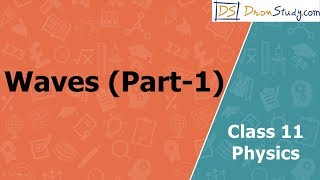 Waves (Part-1) for  Class 11 XI Physics | Hindi Video Lectures