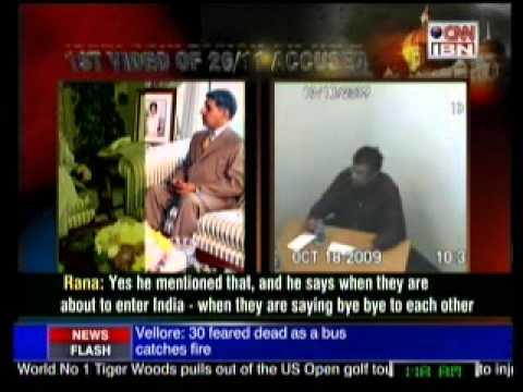 Confession of Terrorist Rana against David Headley on Tape