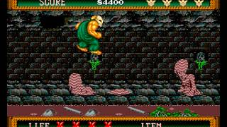 Splatterhouse 2 Sega Genesis no death
