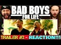 BAD BOYS FOR LIFE | TRAILER #2 - REACTION!!!