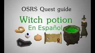 [OSRS] Witch potion quest-guía en Español