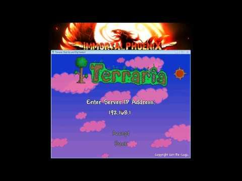 Terraria Multiplayer -- How to setup your own Terraria Server Part 1 (NO HAMACHI NEEDED!!)