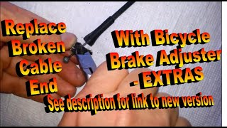 Door Latch Cable Housing End Repair   Extras, Tips and Tricks