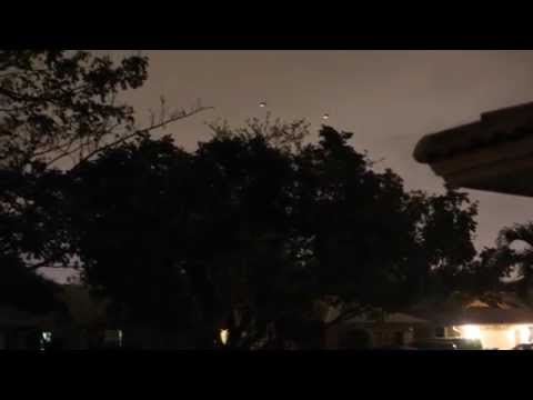 Jade Helm?!  Night Time Military Training - Black Hawk Helicopters over Coral Springs, Florida