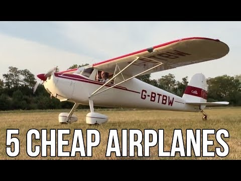 5 Personal Airplanes You Can Buy For Less Than $20,000 - YouTube