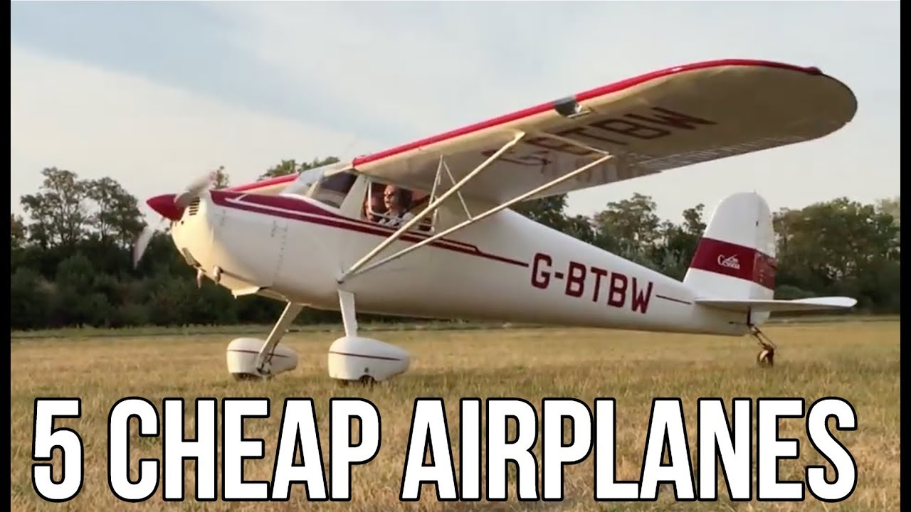 5 Personal Airplanes You Can Buy For Less Than $20,000