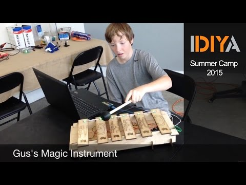 Electronic Musical Instruments: IDIYA Summer Camp