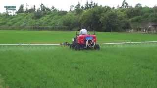 共立乗用管理機 RVH60YW 富山県 (有)田辺農機