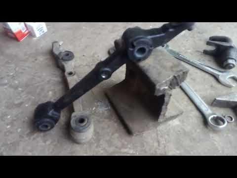 Замена сайлентблоков и рычагов передней подвески Lada Priora