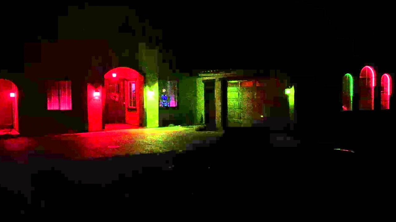 christmas lights oh holy night powered by hue and ambify