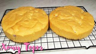 Классический бисквит для торта с ягодами и цедрой лимона Самый ПРОСТОЙ рецепт бисквита для тортов