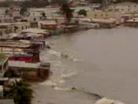 """mar picado, y los barcos varados carirubana..tormenta """"omar"""""""