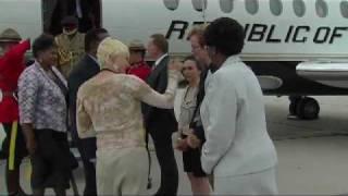 G-20 Summit -- Arrival - Malawi