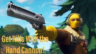 Fortnite Battle Royale! Les faire tue avec le canon à main!