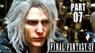Final Fantasy 15 Gameplay German #7 - Erster Boss Fight - Let
