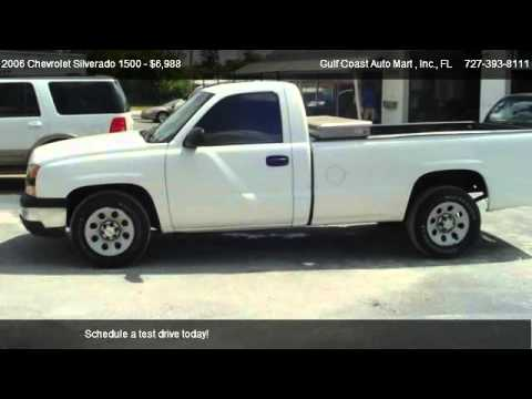 2006 Chevrolet Silverado 1500 Work Truck For In Largo Fl 33778