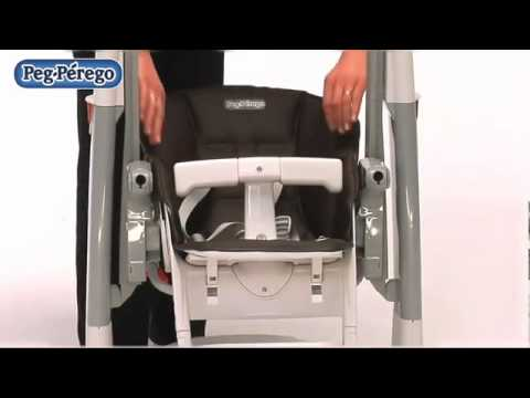 chaise haute tatamia 2011 peg perego youtube. Black Bedroom Furniture Sets. Home Design Ideas