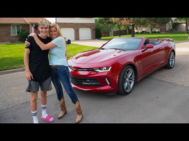 SURPRISING MY MOM WITH HER DREAM CAR!